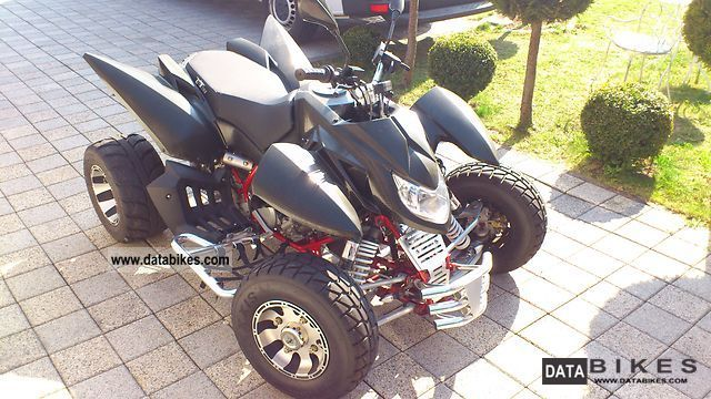 Triton  Carbon Fighter (FINANCING AVAILABLE) 2010 Quad photo