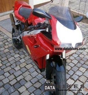 1997 Cagiva  mito 125 seven speed Motorcycle Lightweight Motorcycle/Motorbike photo