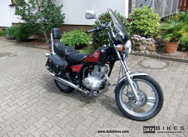 1998 Daelim  Advance Motorcycle Chopper/Cruiser photo