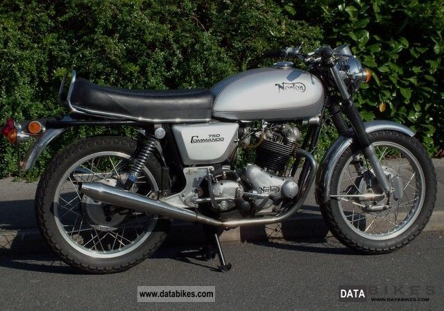 Norton  COMMANDO 1969 Vintage, Classic and Old Bikes photo