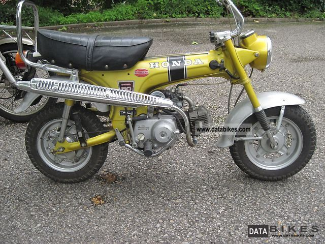 Honda  ST 50 G Dax 1975 Vintage, Classic and Old Bikes photo