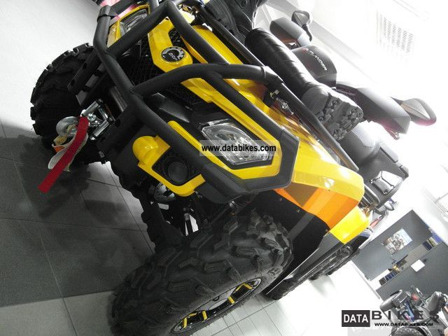 2012 Bombardier  BRP Can Am Outlander MAX 800R XT incl LOF Motorcycle Quad photo
