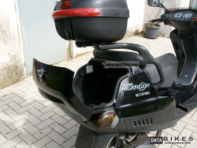 2001 Piaggio Hexagon Gtx 180 4tackt