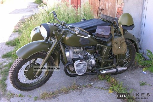 Ural  MB750 1968 Vintage, Classic and Old Bikes photo