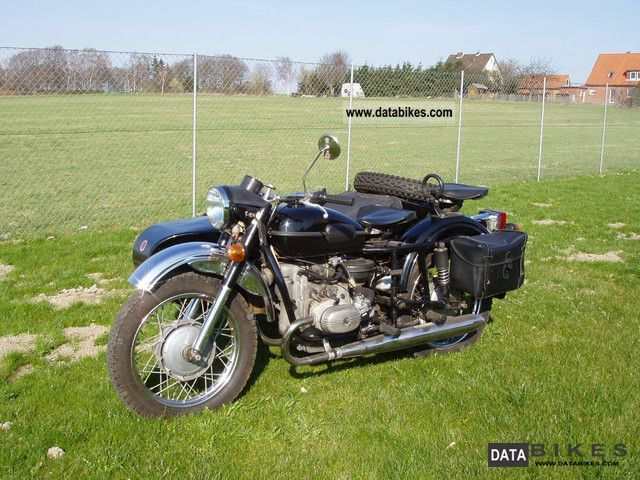 1995 Ural  650 Motorcycle Combination/Sidecar photo