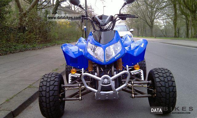 2012 PGO X-Fire Super Flate 300 Piaggio QUAD / ATV