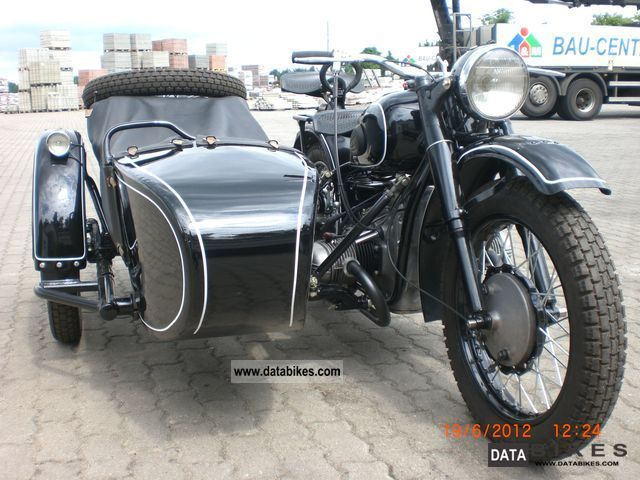 Ural  M 61 1960 Vintage, Classic and Old Bikes photo
