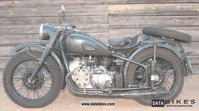 Ural  M 72 1948 Vintage, Classic and Old Bikes photo