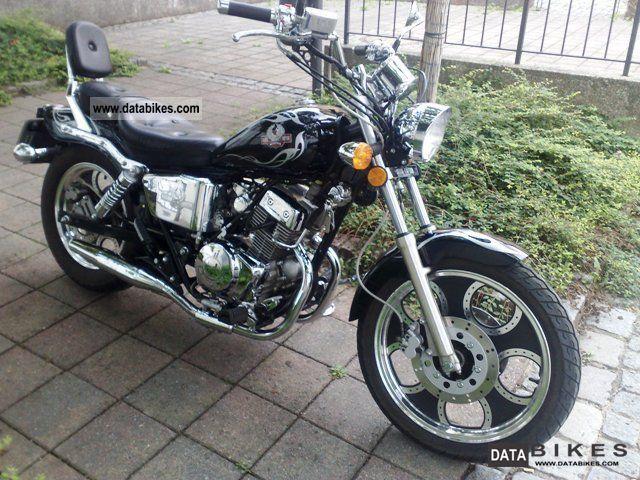 2008 WMI  Iron DD125E Motorcycle Chopper/Cruiser photo