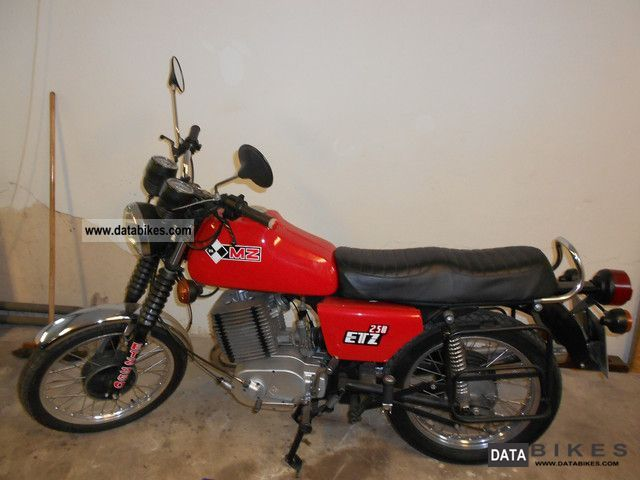 1983 Mz  ETZ 250 Motorcycle Motorcycle photo