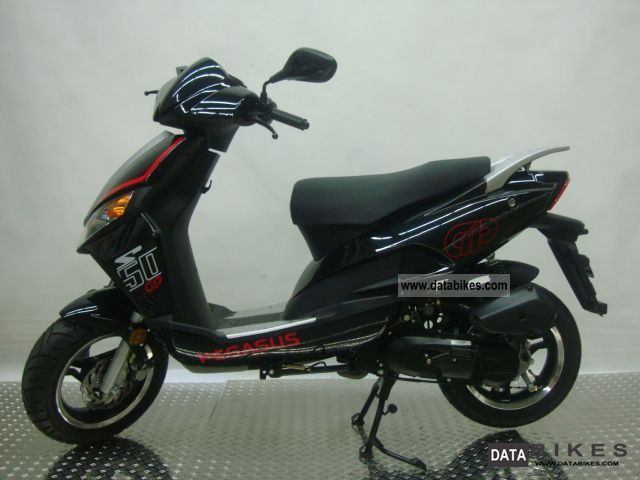 2012 Pegasus  GP 50 2-stroke black Motorcycle Scooter photo