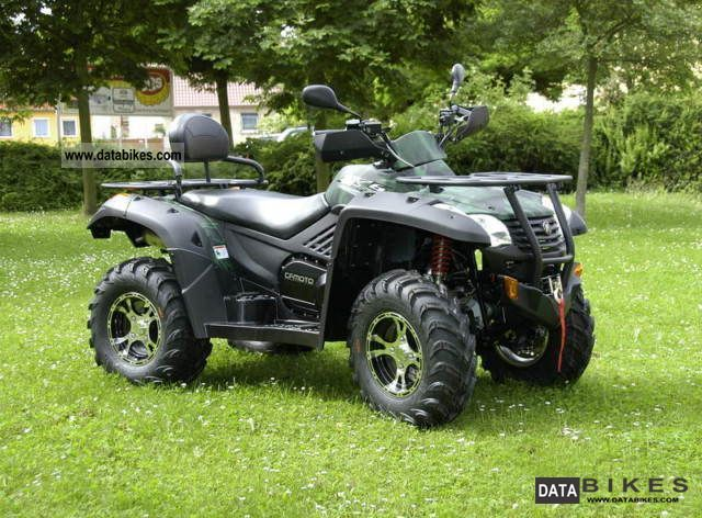 2012 CFMOTO  Grison 625 4x4 CF Moto Terral.X6 m.LOF Motorcycle Quad photo