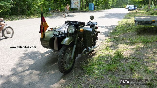 1987 Ural  Dnepr 16 Motorcycle Combination/Sidecar photo