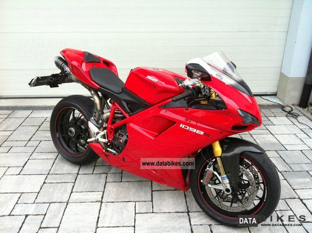 2010 Ducati  1098 s NEUZUSTAND.Termignoni.Xenon.3.700Km Motorcycle Sports/Super Sports Bike photo