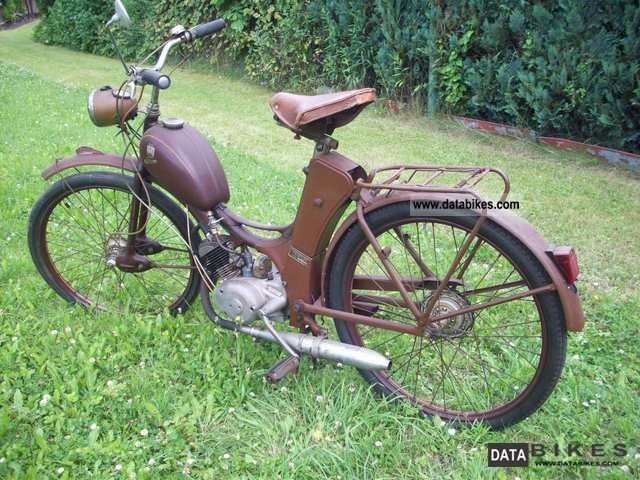 1955 Simson  SR1 Motorcycle Motor-assisted Bicycle/Small Moped photo