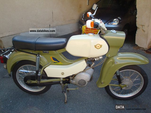 Simson  Goshawk SR 4-4 1974 Vintage, Classic and Old Bikes photo