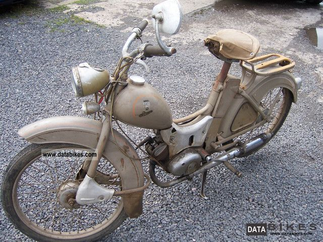 1964 Simson  SR2 E Motorcycle Motor-assisted Bicycle/Small Moped photo
