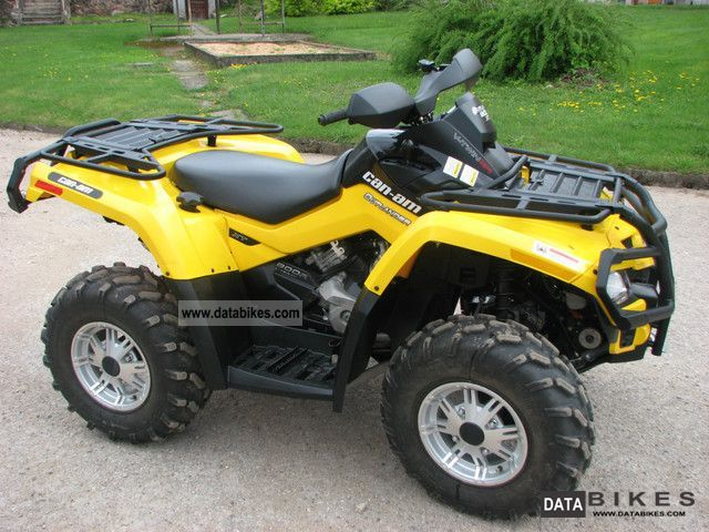 2011 Can Am  Outlander 800 xt r Motorcycle Quad photo