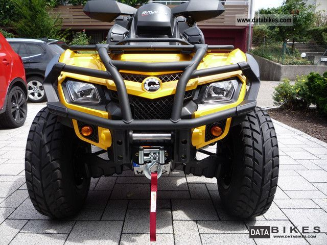 2012 Can Am  Outlander Max XT 800 R Motorcycle Quad photo
