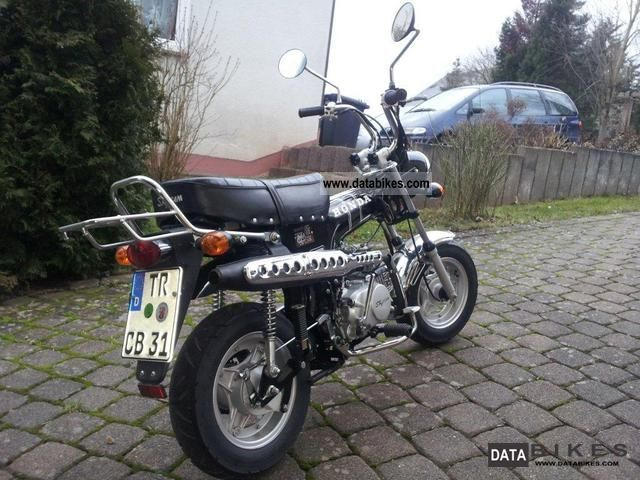 premium selection 48099 4e69f 2008 Skyteam Dax replica st 125-6 Motorcycle Motorcycle photo ...