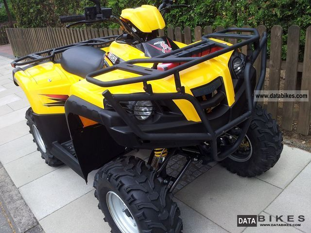 2008 Dinli  Masai A 450 - excellent condition - TopCase Motorcycle Quad photo