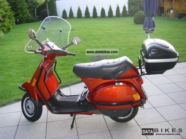 1996 vespa cosa 200 fl with ebc. Black Bedroom Furniture Sets. Home Design Ideas