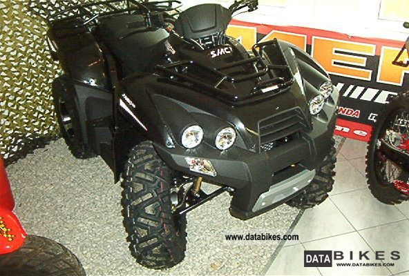 2012 SMC  Barossa Jumbo 302 4x2 or 320 4x2 Motorcycle Quad photo