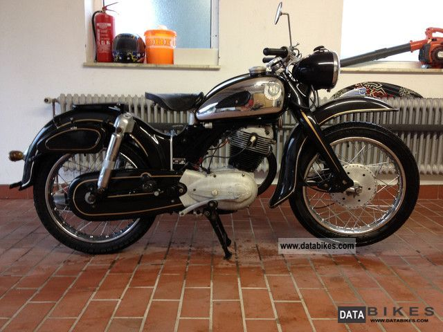 NSU  SUPER MAX 1956 Vintage, Classic and Old Bikes photo