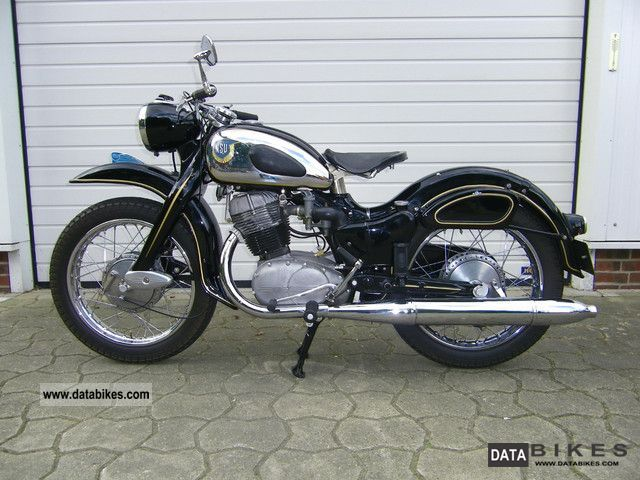 NSU  Max 251 OSB 1954 Vintage, Classic and Old Bikes photo