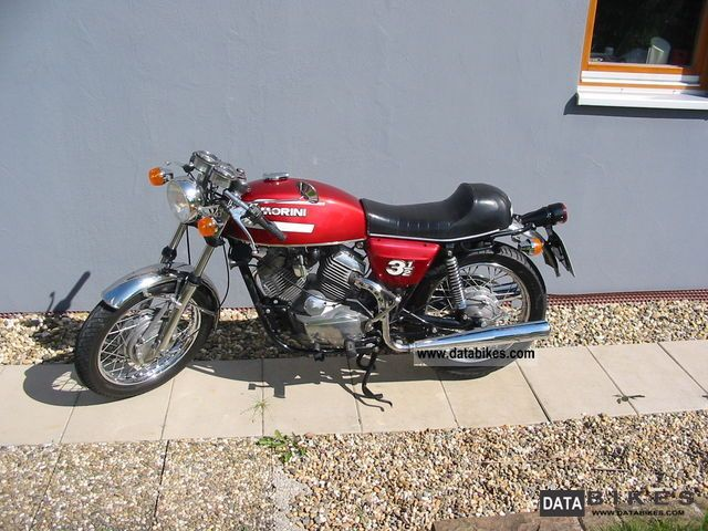 Moto Morini  3 1/2 T 1977 Vintage, Classic and Old Bikes photo
