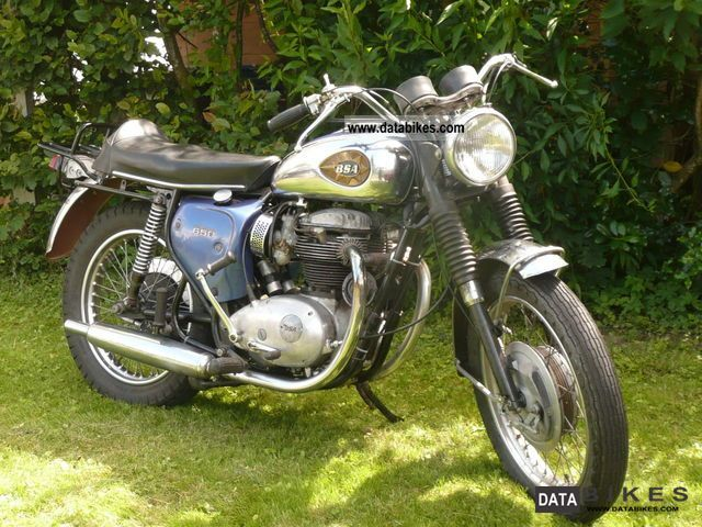 1970 BSA  A 65 Lightning Motorcycle Motorcycle photo