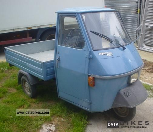 2002 Piaggio  Ape Motorcycle Scooter photo