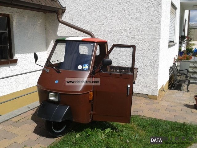 1985 piaggio ape 50. Black Bedroom Furniture Sets. Home Design Ideas