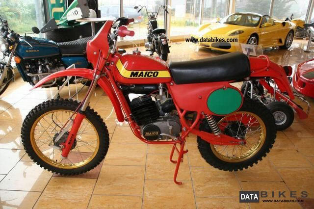 Maico  MC 125 GS \ 1979 Vintage, Classic and Old Bikes photo