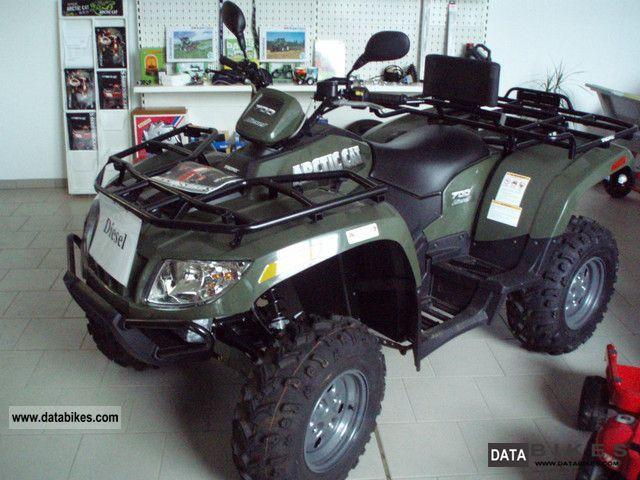 Arctic Cat  ATV 700 Diesel 4x4 compact tractor winch LoF 2012 Quad photo