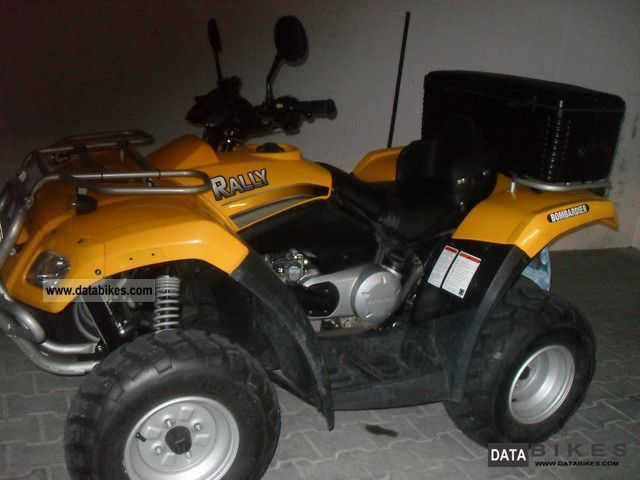 2009 Bombardier  Rally Motorcycle Quad photo