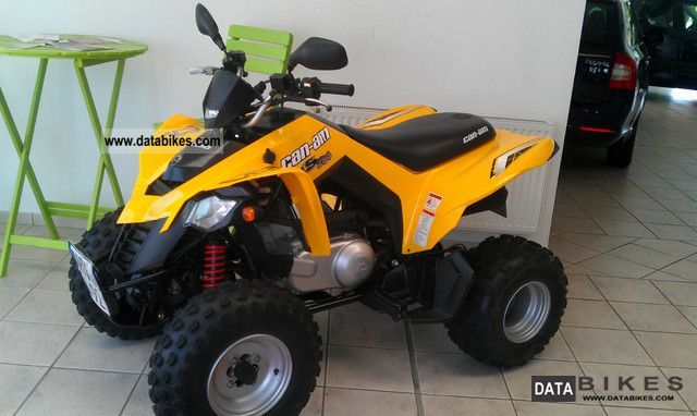 2009 Bombardier  DS 250 Motorcycle Quad photo