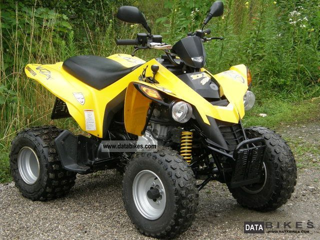 2006 Bombardier  DS 250 Motorcycle Quad photo