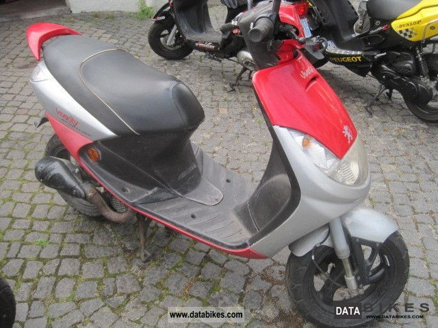 2001 peugeot vivacity 50 sportline moped 25 km h record. Black Bedroom Furniture Sets. Home Design Ideas