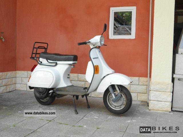 1989 Piaggio  PK50XL Motorcycle Scooter photo