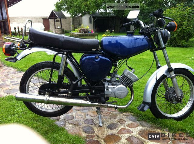 Simson  S51 1977 Vintage, Classic and Old Bikes photo