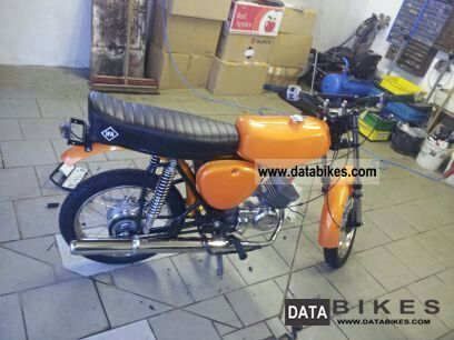 1994 Simson  s51 Motorcycle Motor-assisted Bicycle/Small Moped photo