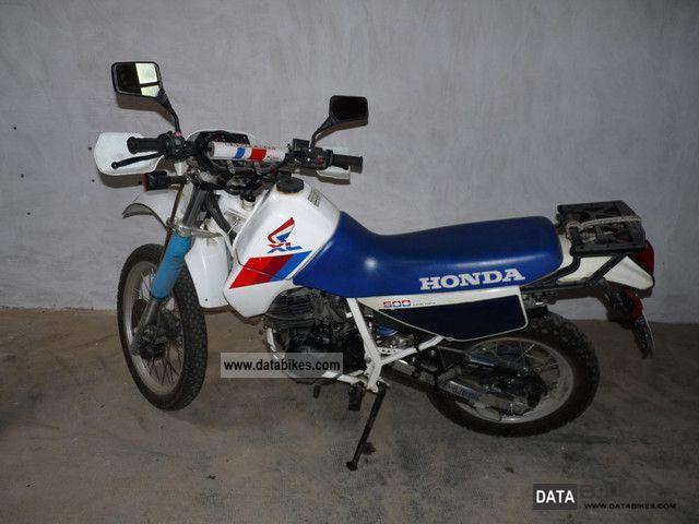 Honda  XL600RM 1988 Enduro/Touring Enduro photo