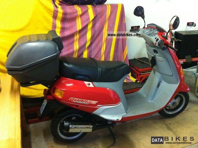 Piaggio  Quartz 50 1992 Scooter photo