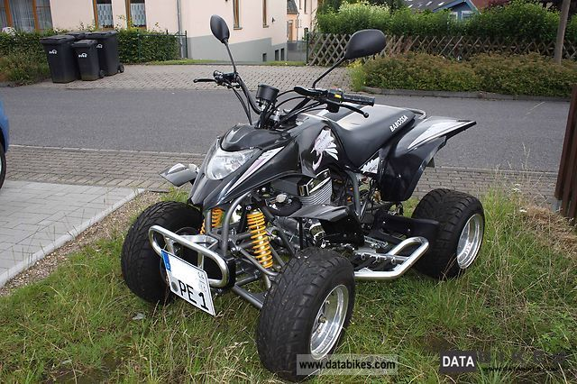 2007 Barossa  250 Silverhawk Motorcycle Quad photo