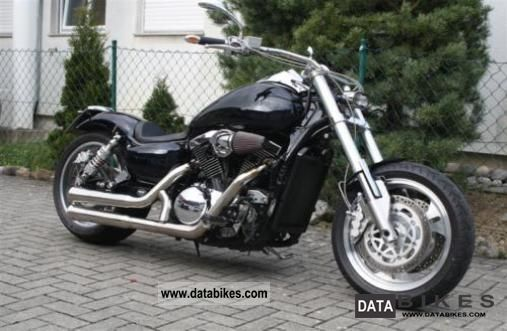 2004 Kawasaki  Vulcan 1500 Mean Streak Motorcycle Chopper/Cruiser photo