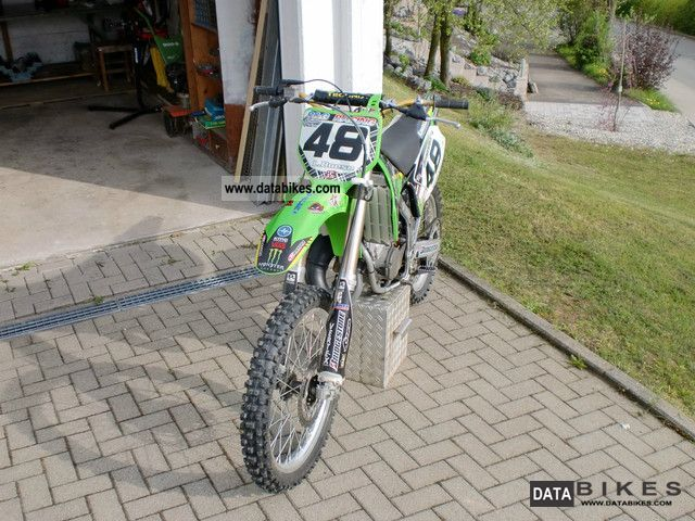 2007 Kawasaki  moto cross Motorcycle Rally/Cross photo