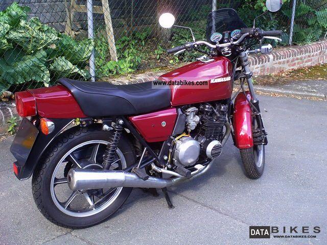 1981 Kawasaki  Z400J Motorcycle Motorcycle photo