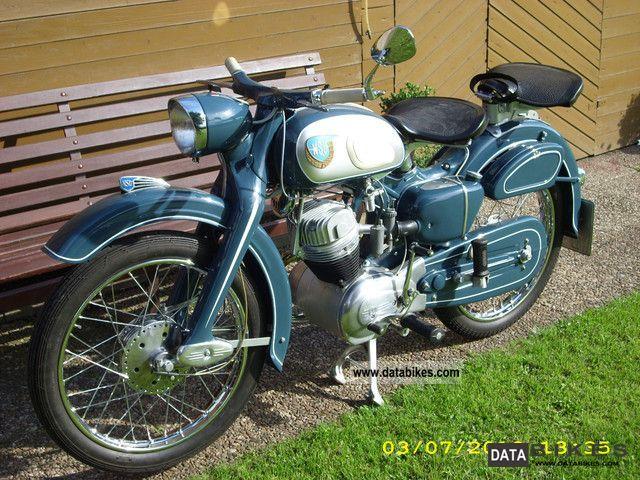 1958 NSU  Superfox Motorcycle Lightweight Motorcycle/Motorbike photo