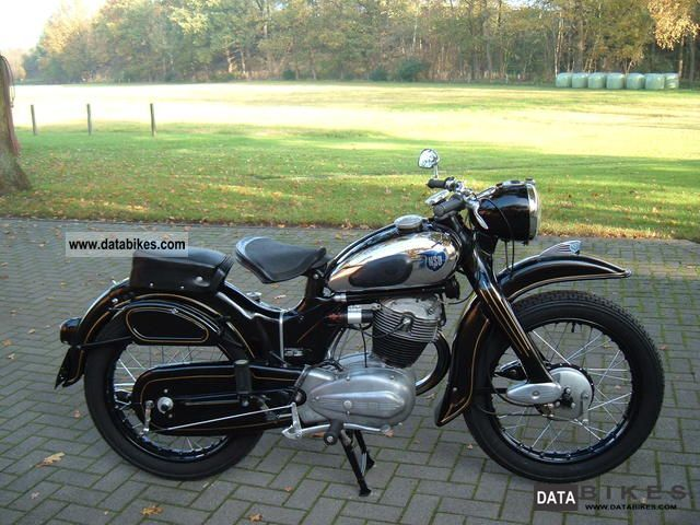 NSU  Max 1953 Vintage, Classic and Old Bikes photo